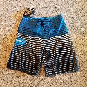 Billabong board shorts, 9.5 inch inseam, EUC